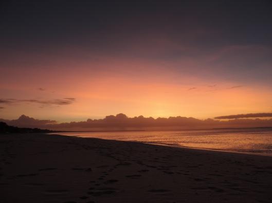 Ouvéa - la plage de Mouli